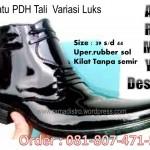 Sepatu PDH tl Variasi Kulit Luks