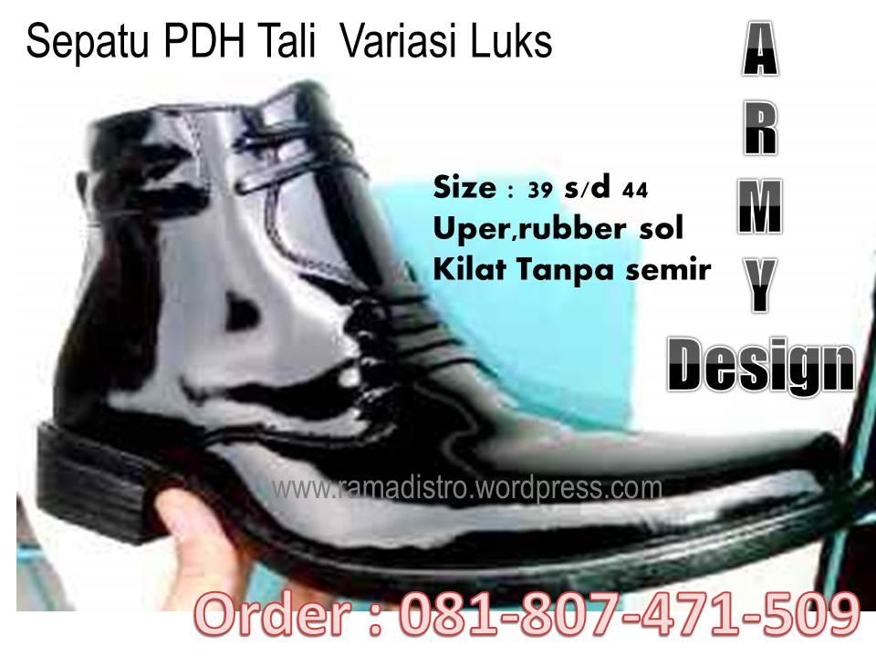 Sepatu PDH Miiiter-Army-Tni-Kilap-Kulit asli-ramadistro bandung ... 67cd00b771