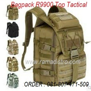 Bagpack R9900 Top Tactica; tan