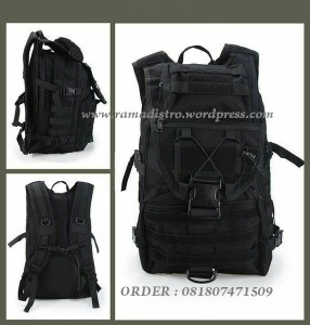 bagpack R9900 Tactical HITAM