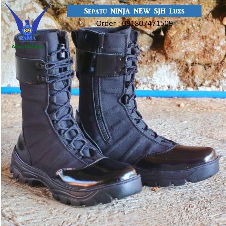 Pabrik pembuatan sepatu Ninja Ramadistro